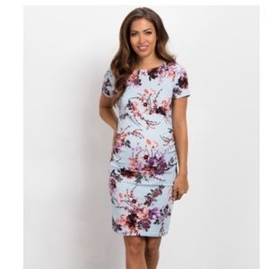 PinkBlush Maternity Floral Print Dress
